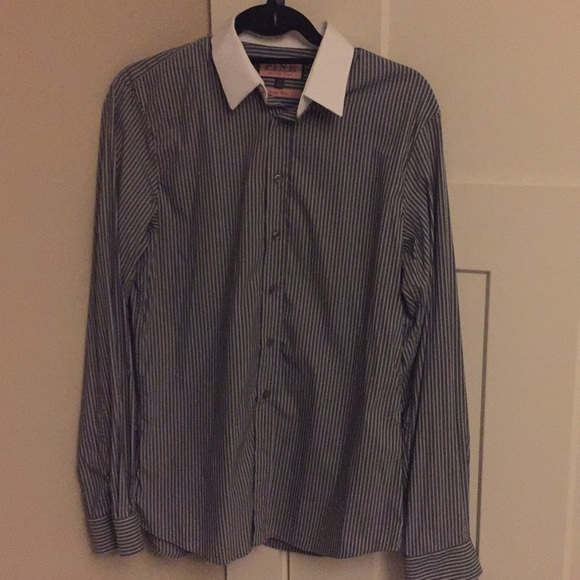 fe38e3e6 Gray Thomas Pink super slim dress shirt. M_5b628ffd7ee9e2acb6a6fbe1
